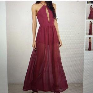 Tobi Backless Maxi Dress